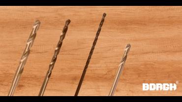Wat zijn de verschillen tussen HSS staalboren DIN338, DIN340 en DIN1897