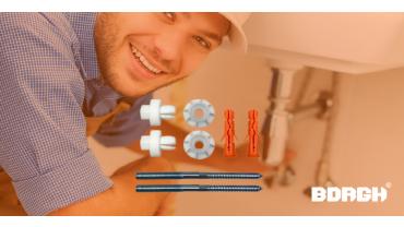 Wastafels snel, efficiënt & muurvast monteren – Maak kennis met de Borgh Push & Fix Nut